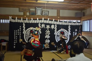 平倉神楽鶏舞