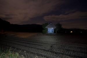 夜の荒神神社