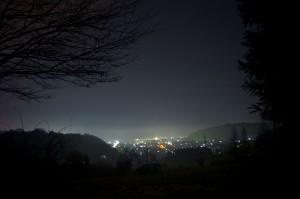 遠野の夜景