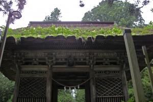 早池峰神社山門